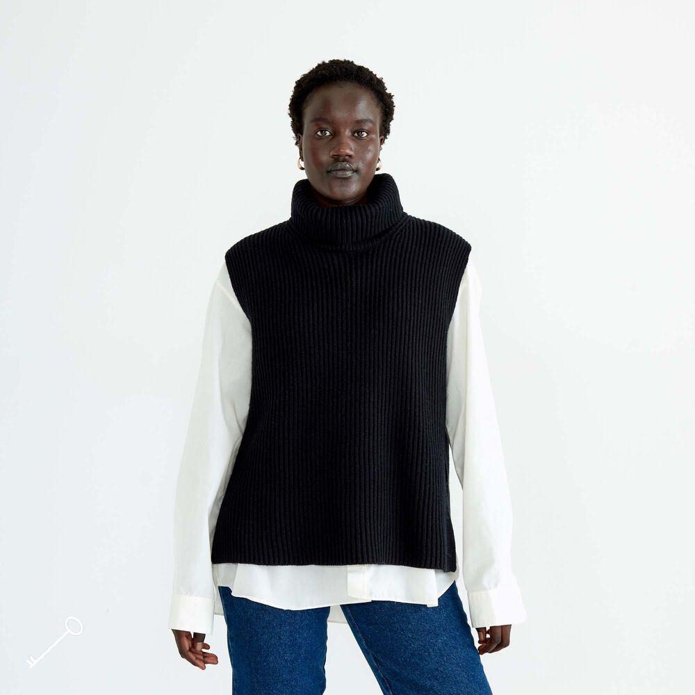 Merinovillaliivi, black, hi-res