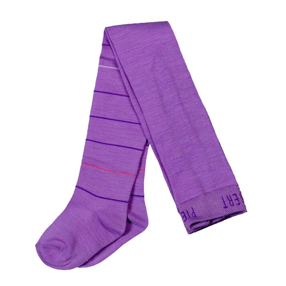 Baby-merinovillasukkahousut violetti, purple, hi-res