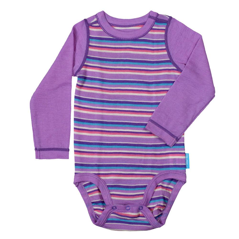 Merinovillainen Body, purple-aqua-off-white, hi-res