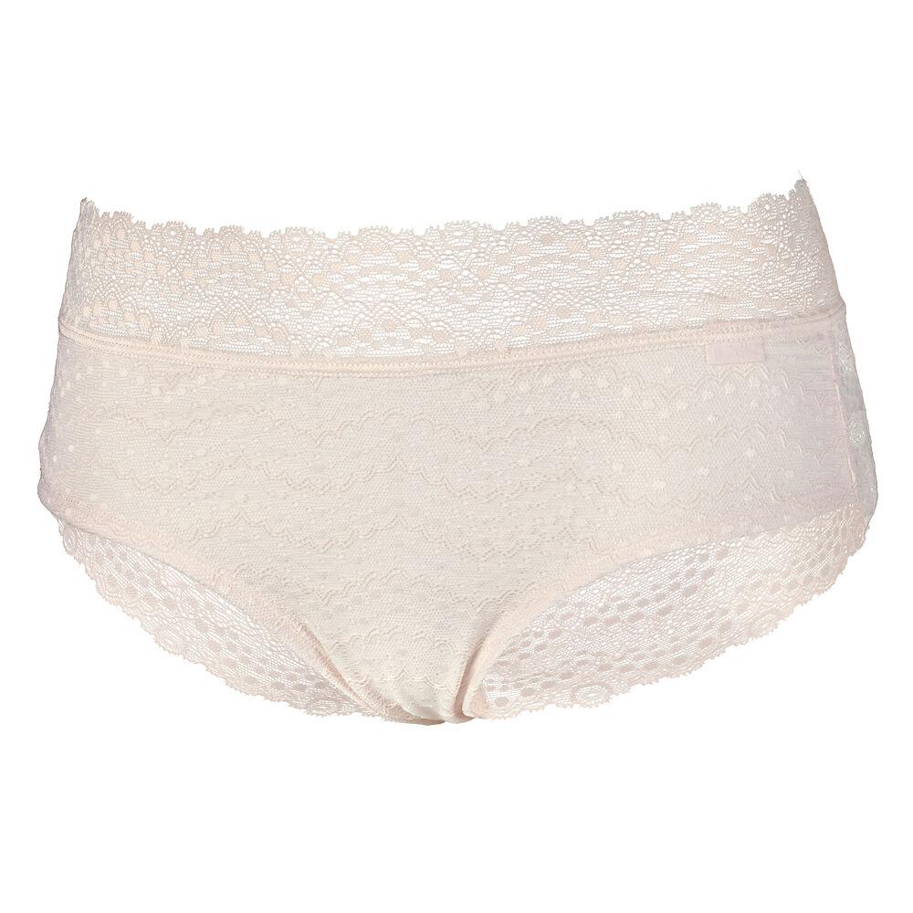 Soft lace hipster trosor, vanilla, hi-res