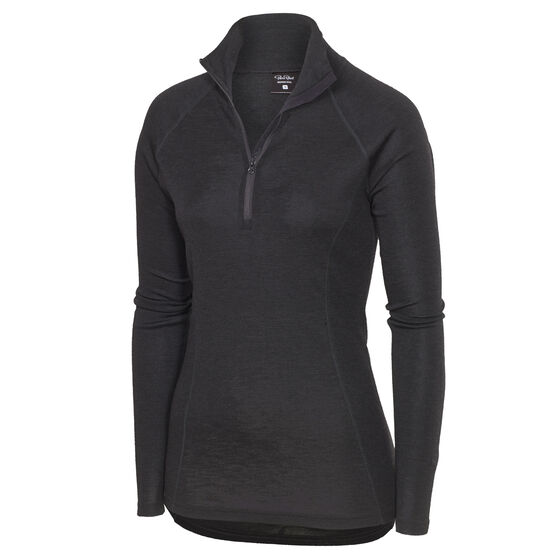 SPORT WOOL LONG SLEEVE Nearly Black 2-17, nearly black 2-17, hi-res