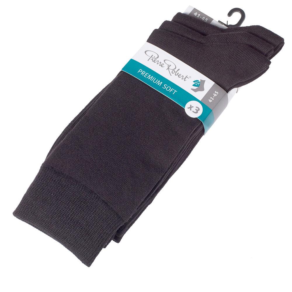 Premium modaalisukat 3-pack, black m, hi-res