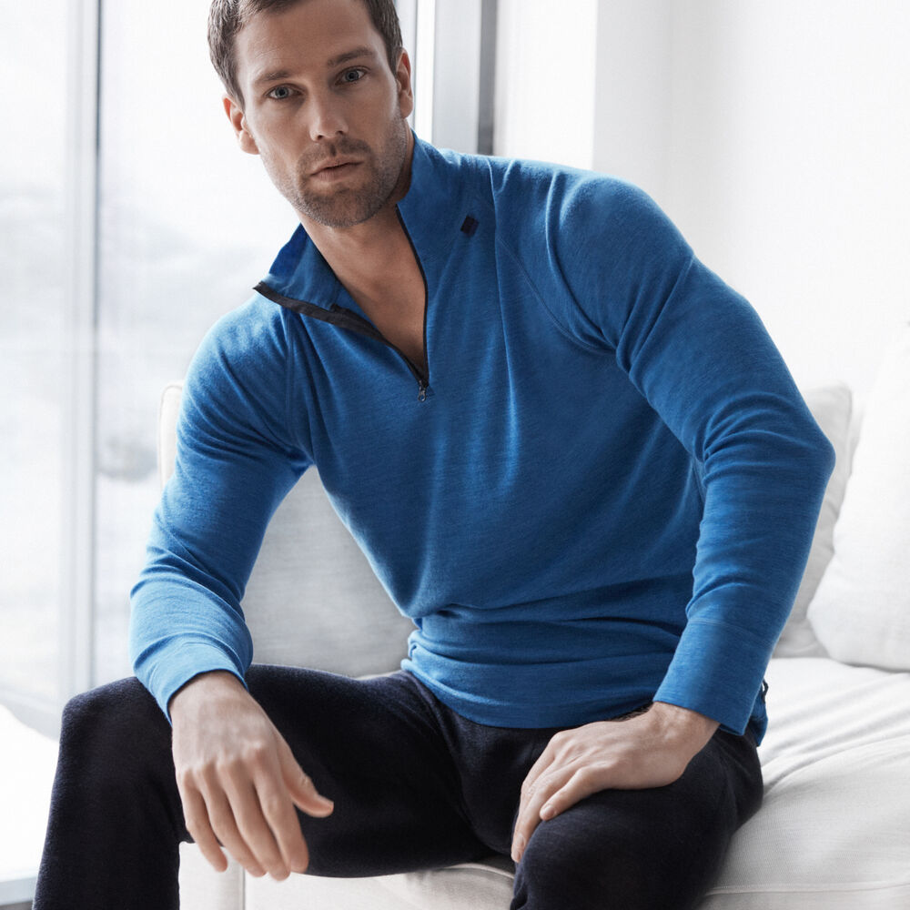 SPORT WOOL TOP ZIP, , hi-res