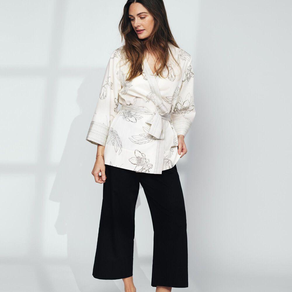 Loungewear sett økologisk bomull, , hi-res