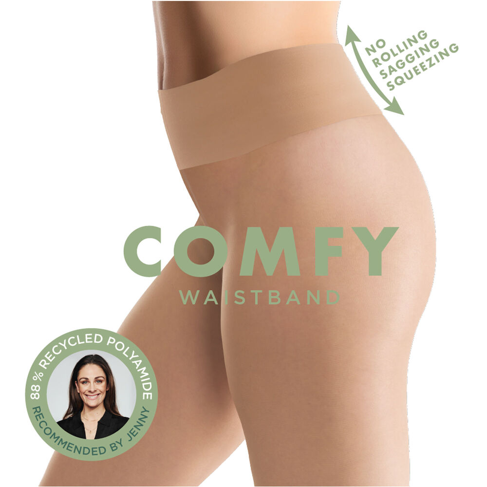 Comfy tights 20 denier strumpbyxor, sand, hi-res
