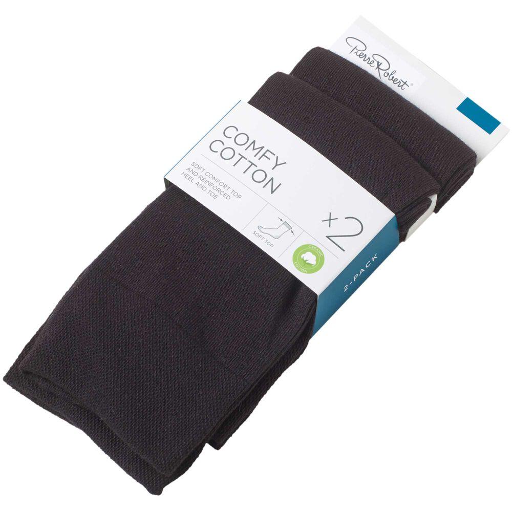 Sokker i økologisk bomull x2 41-45, , hi-res