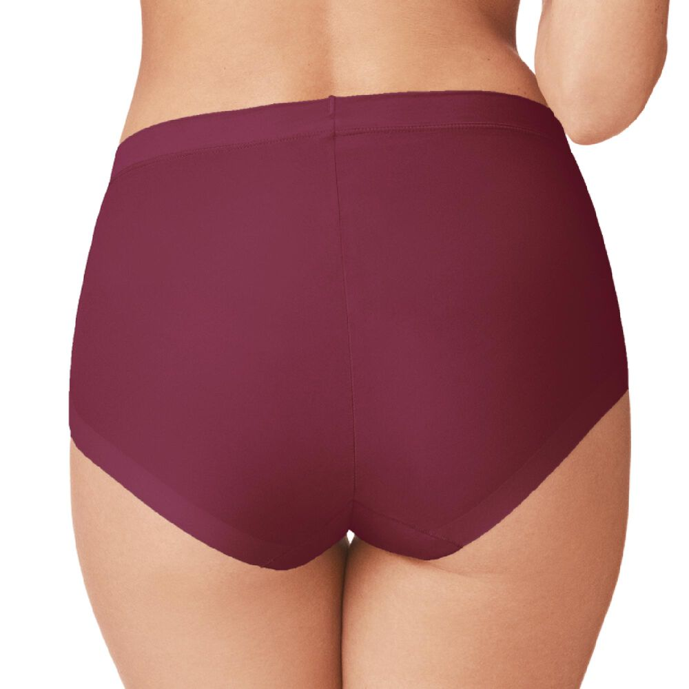 Truse invisible high waist mikrofiber, deep red, hi-res
