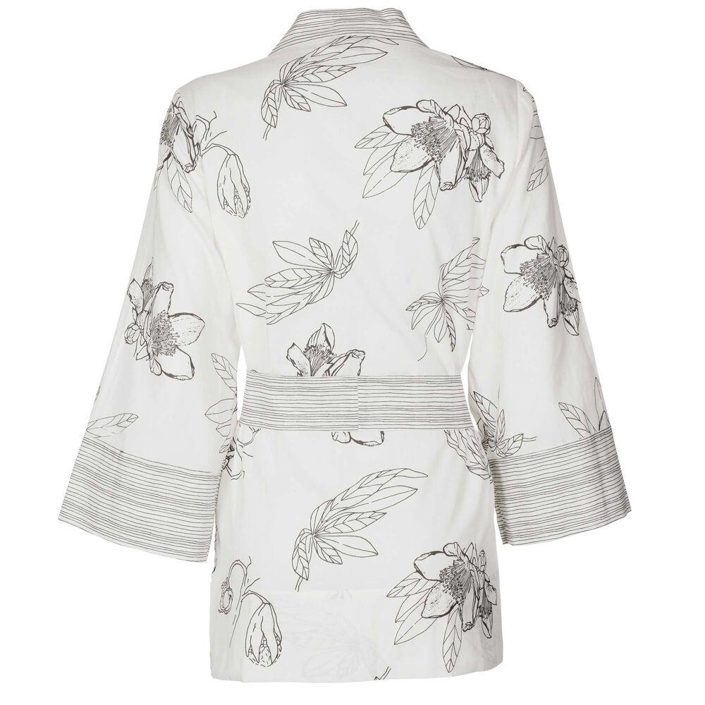 Loungewear kietaisupaita Jenny Skavlan, flowers, hi-res