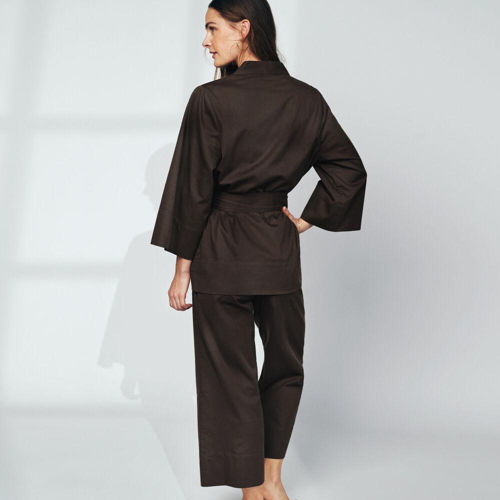 Loungewear kietaisupaita Jenny Skavlan, leaf green, hi-res