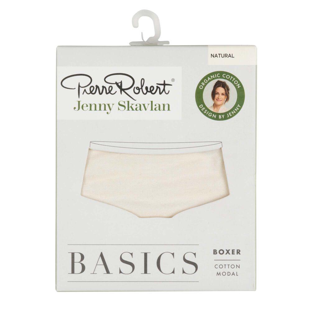 Basics boxertruse økologisk bomull/modal, natural, hi-res