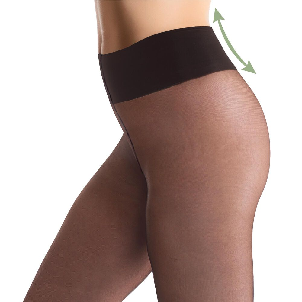 Comfy tights 20 denier strumpbyxor, black, hi-res