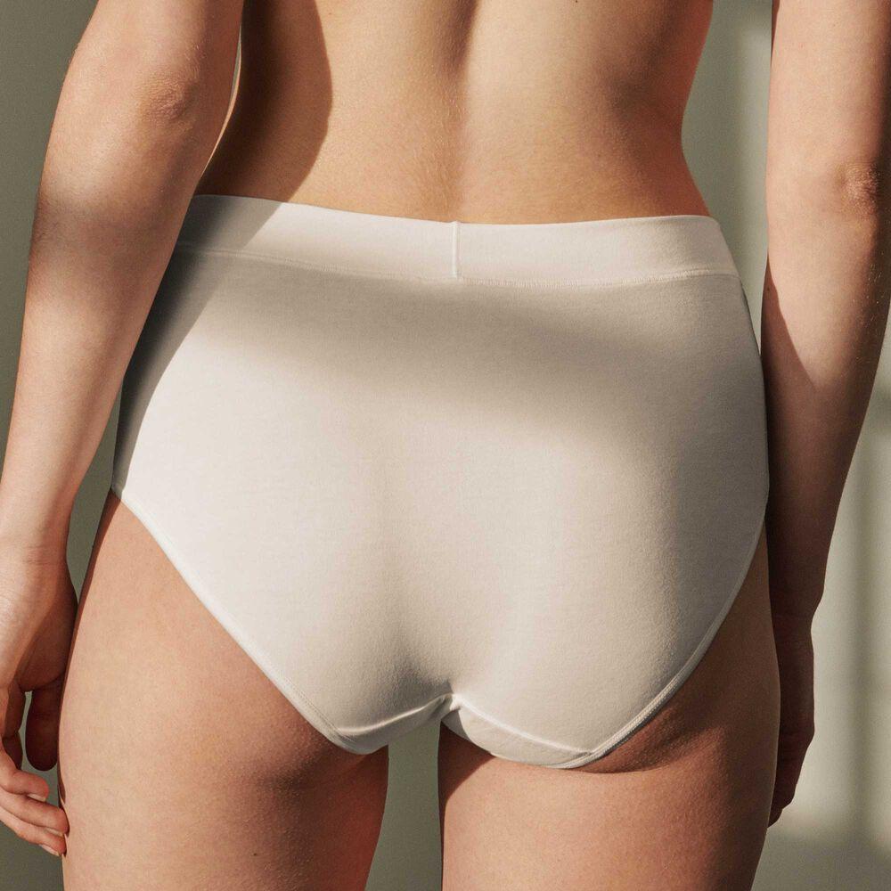 Luomupuuvillaiset korkeavyötäröiset alushousut Jenny Skavlan, natural, hi-res