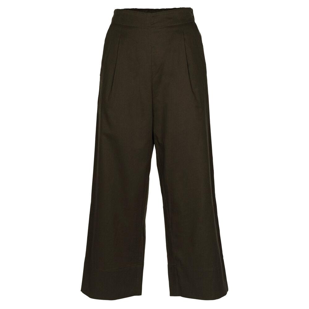 Loungewear housut Jenny Skavlan, leaf green, hi-res